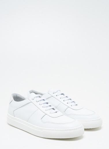 F By Fabrika Erkek Beyaz Sneakers PETER Beyaz